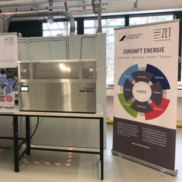 Das neue ZET-Großgerät dient der Verarbeitung von Metall im 3D-Druck